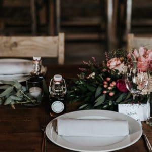 décoration nourriture boisson table