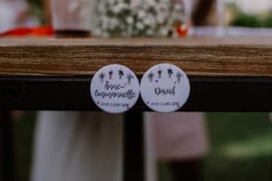 mariage cadeaux personnalisés prénoms