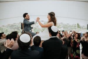 Wedding planner bordeaux mariage juif cérémonie couple mariés bohème israel agence mcreationevents